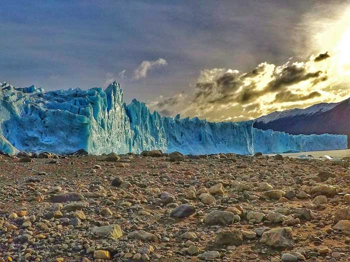 perito-moreno-glacier-on-land