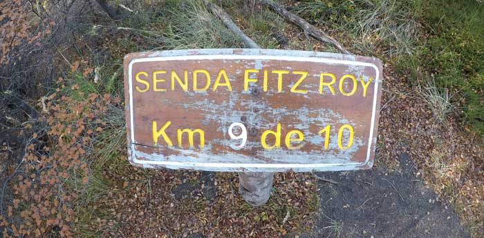 last km to fitz roy