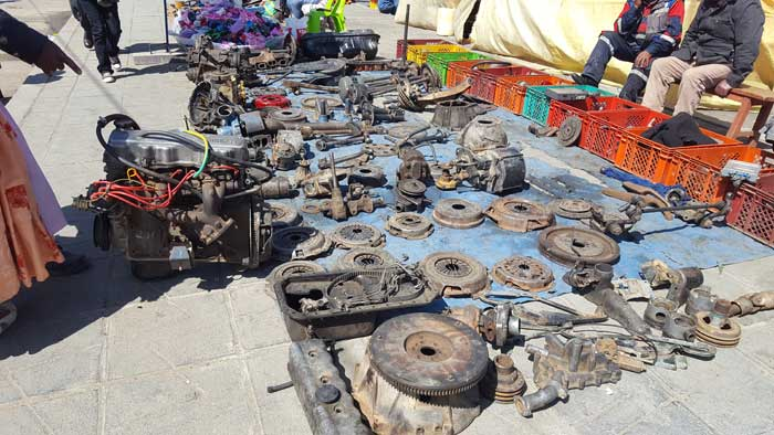 car-parts el alto market