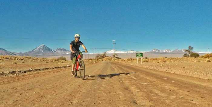 cycling in atacama desert