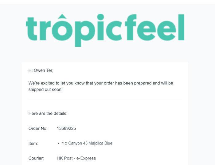 tropicfeel-canyon-shipment